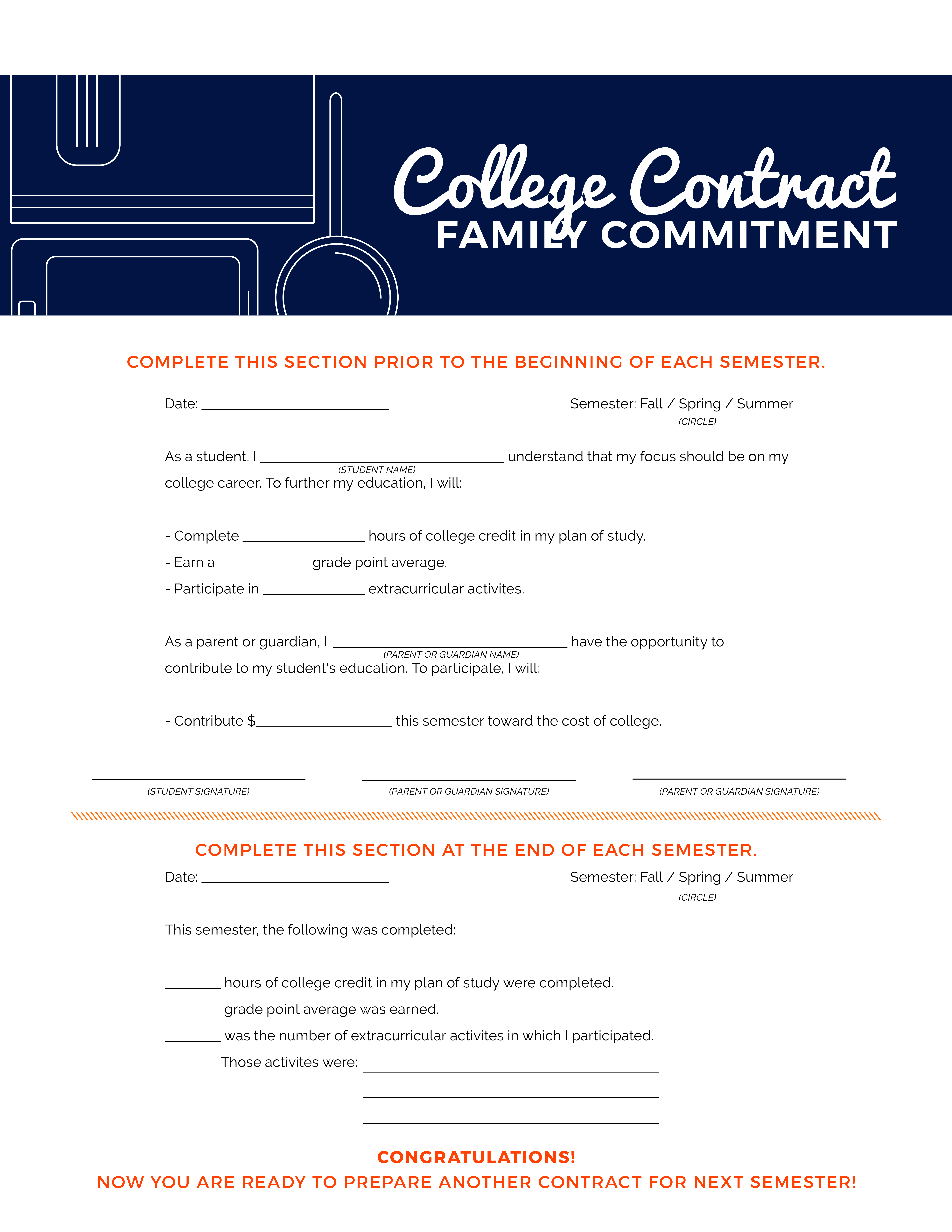 College Contract