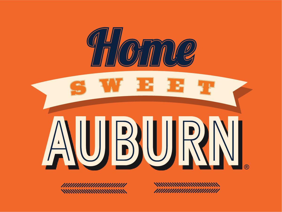 """""""Home Sweet Auburn"""" Banner"""