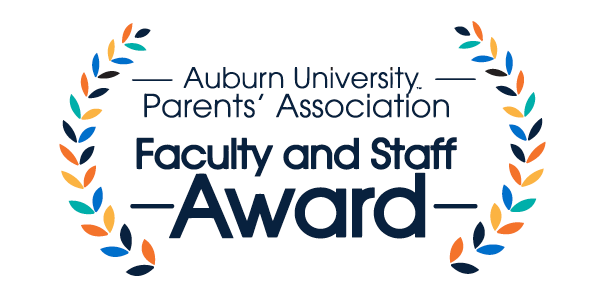 Auburn University Parents' Association Faculty and Staff Award
