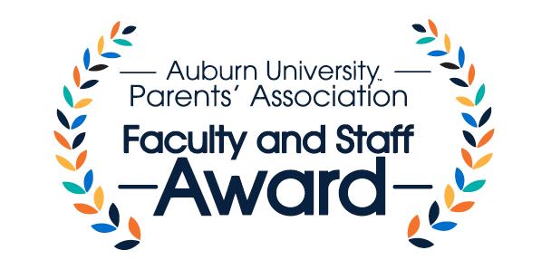 Auburn University Parents' Association Faculty and Staff Award